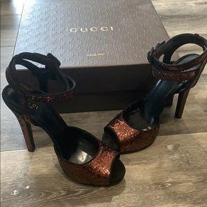 Gucci High Heel Sandals size 8.5